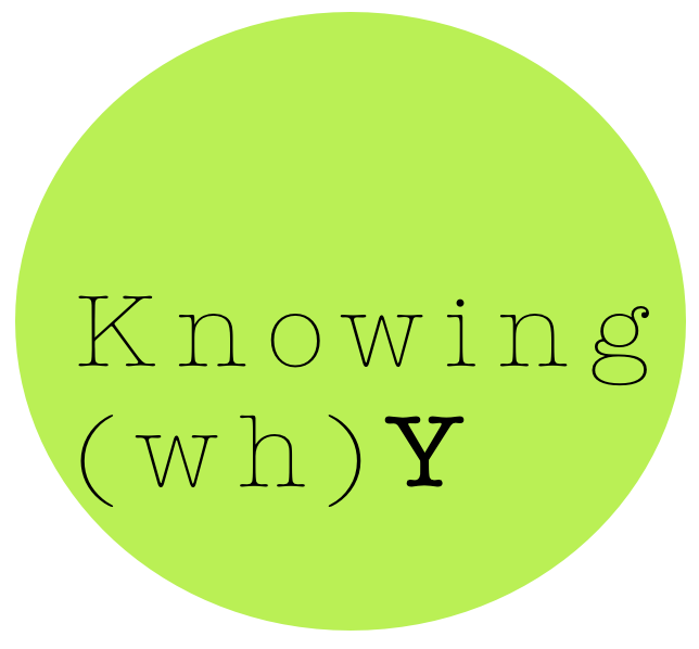 knowingwhy