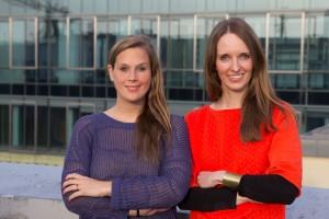 Jana Tepe und Anna Kaiser, die Gründerinnen der Jobsharing-Plattform Tandemploy (Bildnachweis: Christian Stumpp)